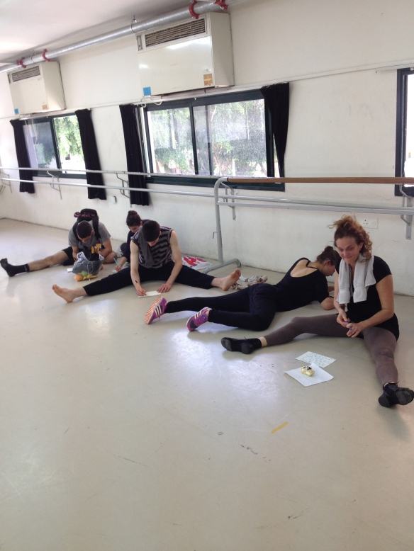 Open Class students at Bikurey Haitim Studio in Tel Aviv reflecting on what dancing connects them to.
