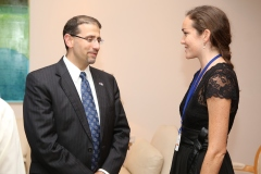 Me with Ambassador Dan Shapiro