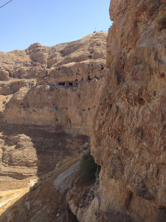 The cave where Jesus lived and fasted for 40 days