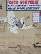 Banksy in Bethlehem, Palestine
