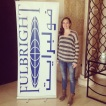 Me at the Fulbright Regional Conference in Amman, Jordan earlier in the year : )